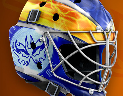 Goalie Mask Designes 2017
