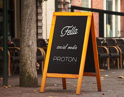 Social media (Fella Resturant )