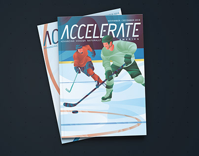 Accelerate America #40 Cover Illustration