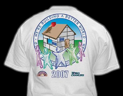 American PolySteel T-shirt - World Changers