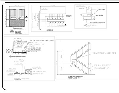 Interior Building Technology Drawings