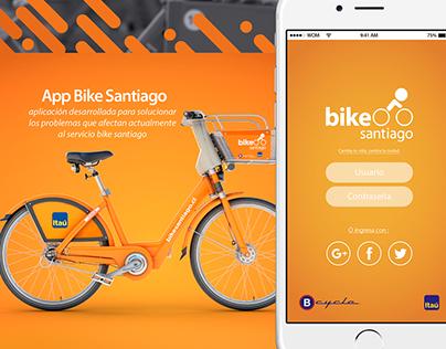 Bike Santiago App
