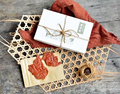 快車肉乾禮盒 包裝 | KUAI-CHE Pork Jerky Gift Basket Re-design
