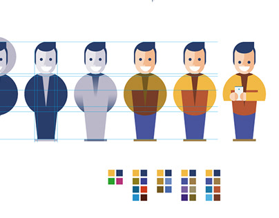 Sateliun - Branding & Character Design