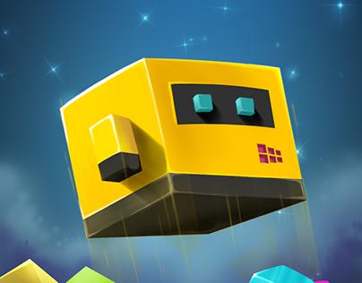 Cubicle Game Promo Art