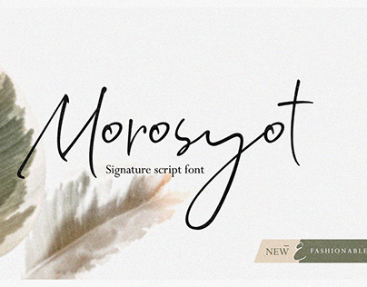 Morosyot New Font Release