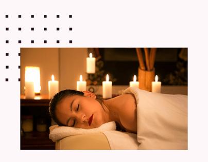 Showcase Website Mobile - Massage