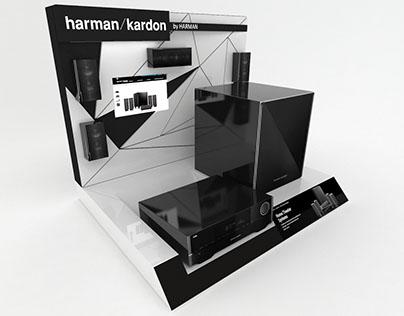 Exhibidor para Home Theather Harman Kardon