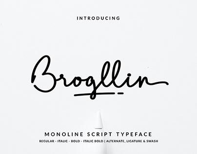 Brogllin Font