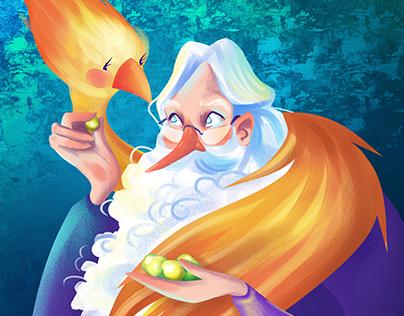 Dumbledore's portrait
