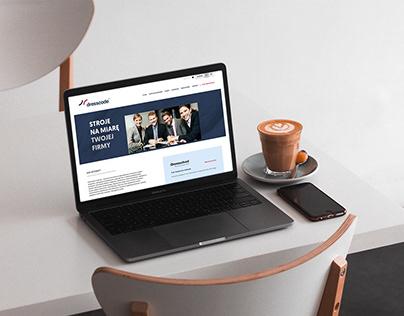 Dresscode branding & website
