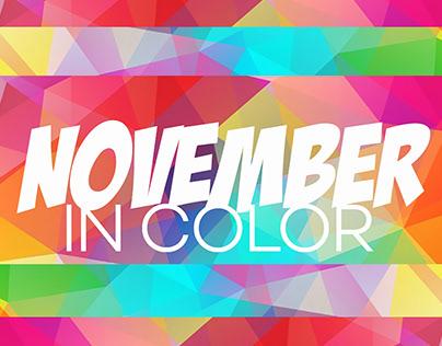 November in Color