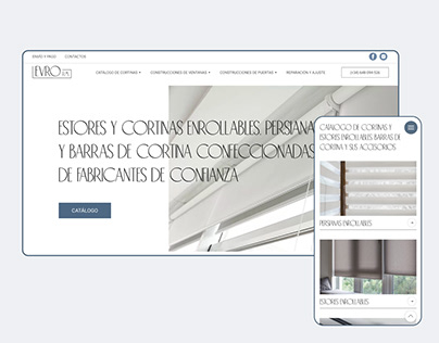 Online-store of roller blinds