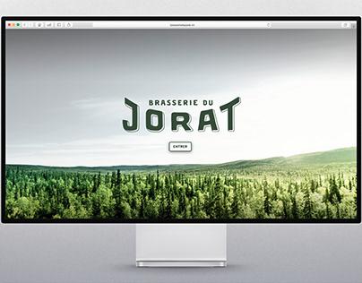 Website - Brasserie du Jorat