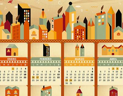 Calendarios 2015 / Ñam Estudio.