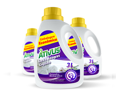 Criação de Rótulo de produtos de limpeza
