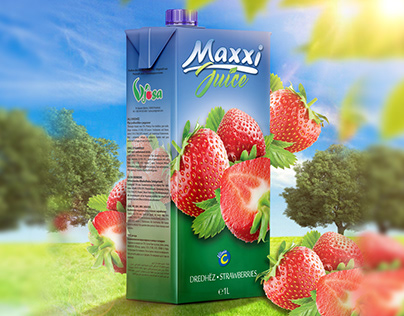 Vjosa - Maxxi Jucie @ Packaging Design