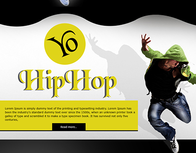 Dance Web Template by Lalit Mishra : 8010464654