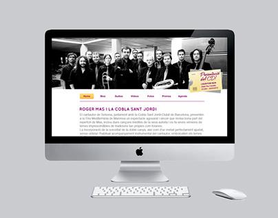 Promotional microsite / Roger Mas