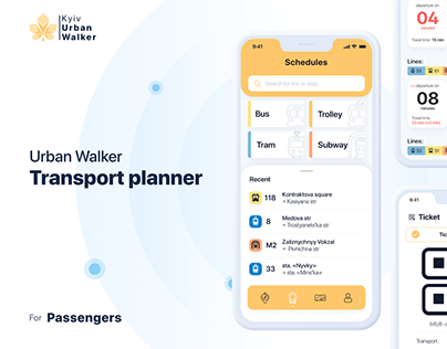 Urban Walker - Public Transport app
