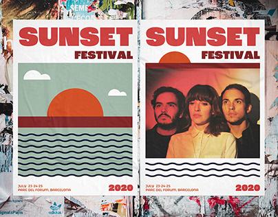 Sunset Festival Branding