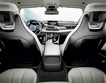 BMW i8 Interior