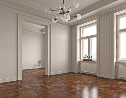 The Studio Flat's ceiling