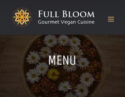 Full Bloom- Gourmet Vegan Cuisine