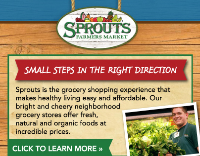 Sprouts Farmers Market - Digital Advertisement on Behance
