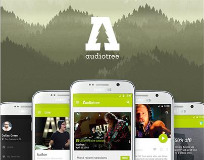 Audiotree App Concept