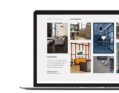 Interiors Website Design