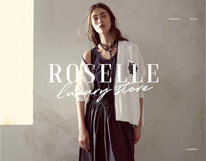 ROSELLE E-commerce