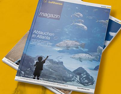 Lufthansa magazin family