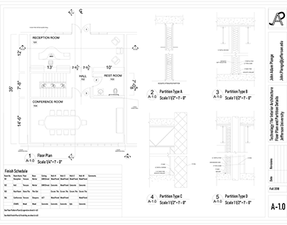 Wooder - a Water-Conscious Office Space - Sheet Set
