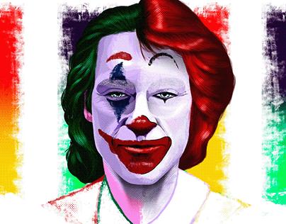 Joker McDonald's.