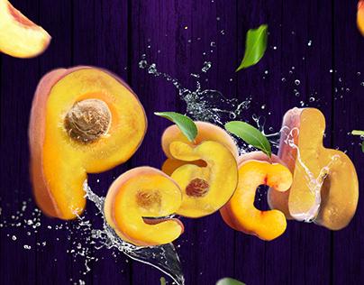 Typo peach