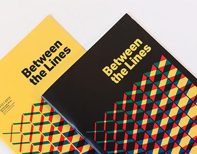 Between the Lines - 2013 Exhibition Branding