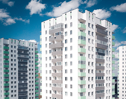 Сompleted construction objects