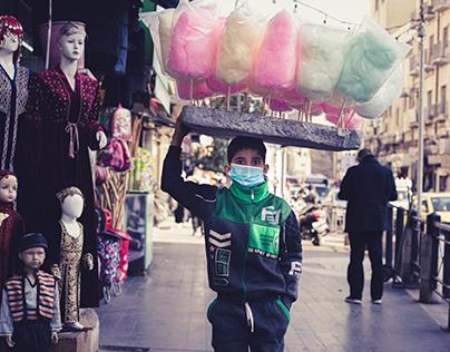 street photography series: locked horizon