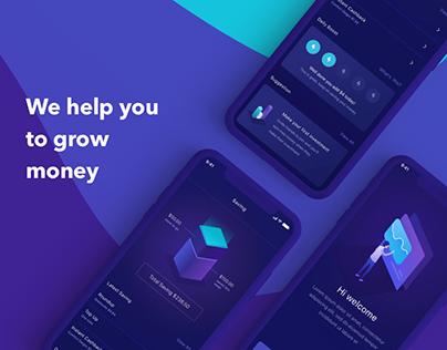 Invest Mobile App UI UX