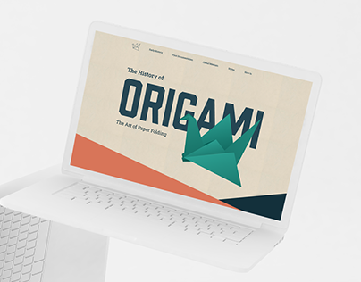 The History Of Origami Website
