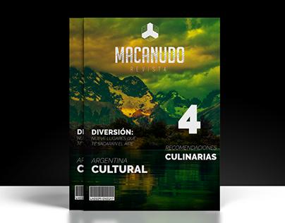 Revista MACANUDO, edición especial.