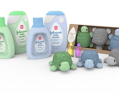 Johnson's Baby Detergent Concept