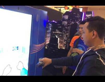 #IniWaktunya Mizone Interactive Vending Machine