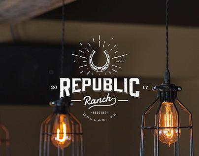 Republic Ranch Branding