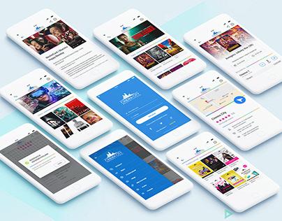 Cinema City UX/UI App
