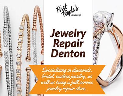 Jewelry Repair Denton | Call - 940 383-3032