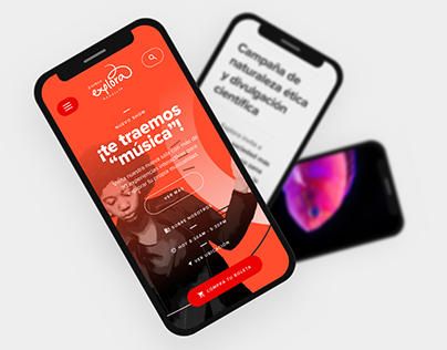 Parque Explora / Interactive Museum Web App