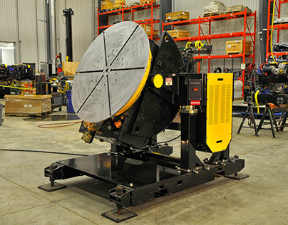 Benefits of Gear Tilt Welding Positioners in Metal Fab