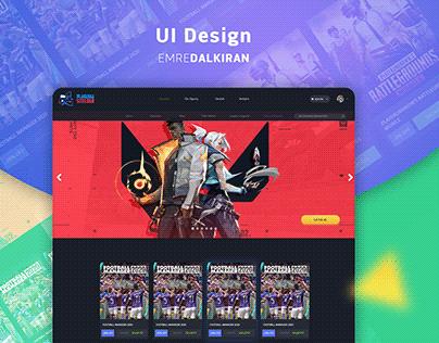 GAME SALES UI DESIGN